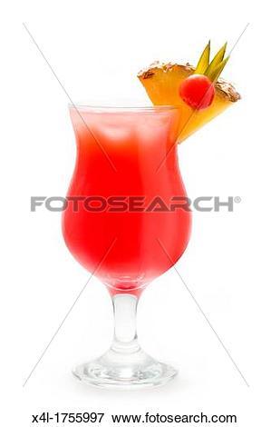 Picture of Cocktail, Sex on the beach vodka, peach liqueur, orange.
