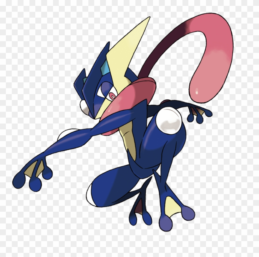 293kib, 900x859, Greninja Transparent By Jamzdrawz.