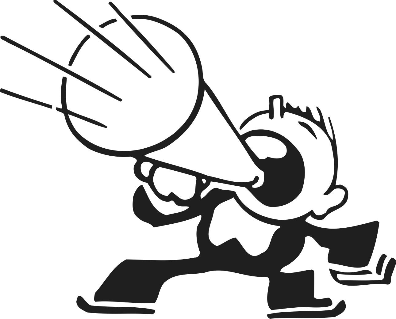 Clipart megaphone tumundografico 3.