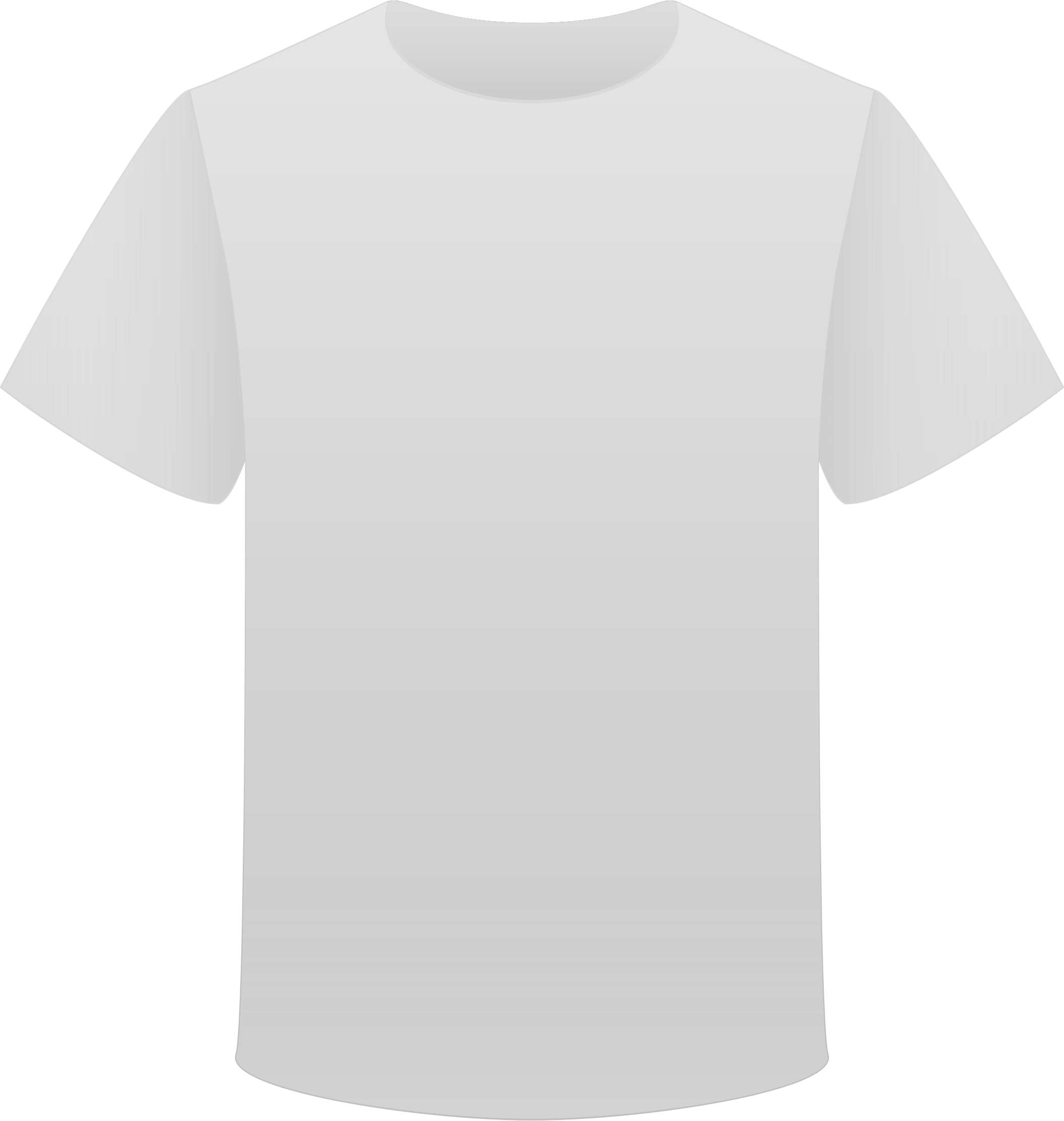 Tshirt Grey Back transparent PNG.