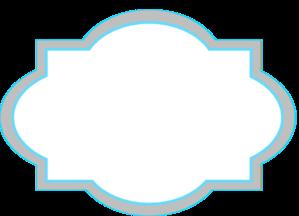 Gray blue clipart.