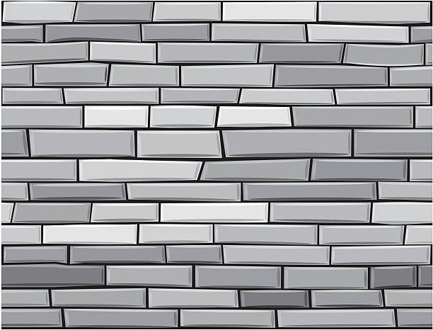 grey brick wall clipart #5