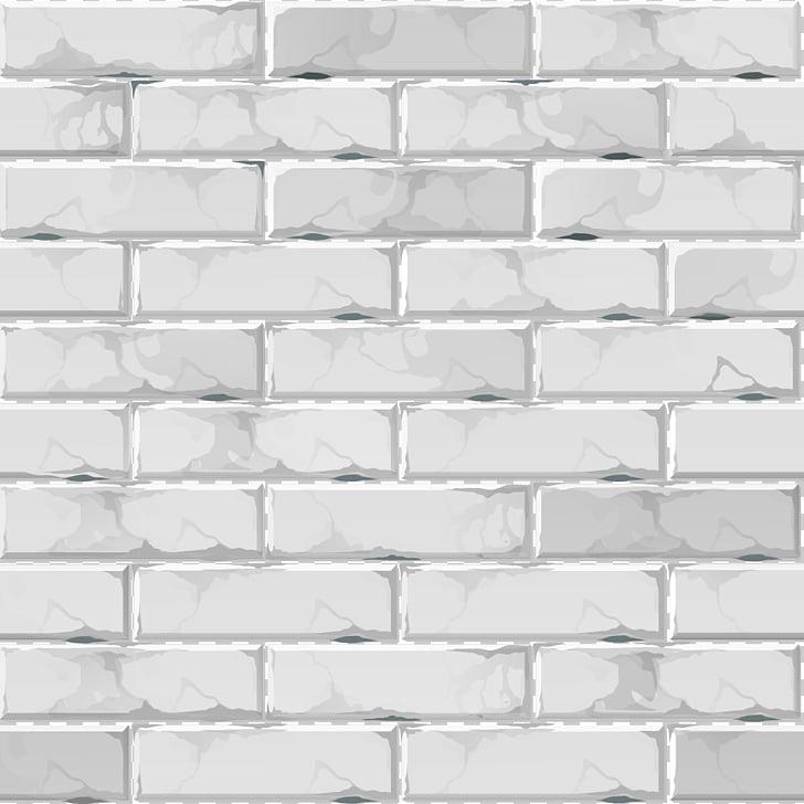 Brick Euclidean , Gray brick wall background material, gray.