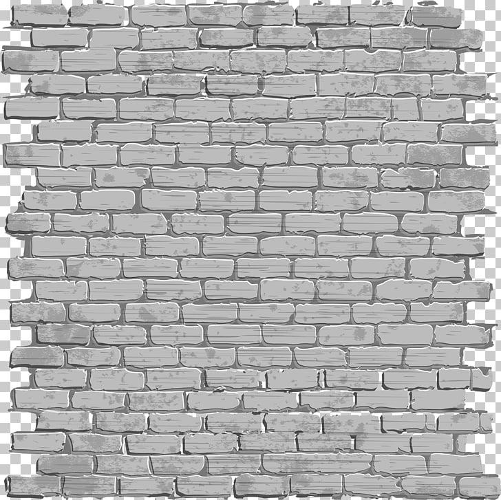 Brick Wall, Black simple brick wall, gray faux brick wall.