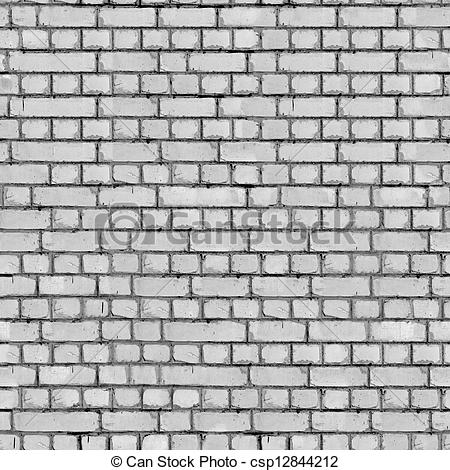 Clipart of Grey Brick Wall Background..