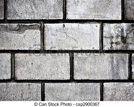 Picture of grey brick wall texture background.