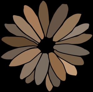 Gray Brown Daisy Clip Art at Clker.com.