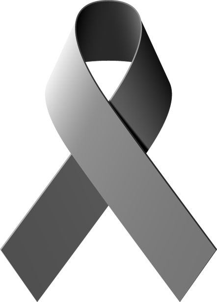 Clip Art Of A Diabetes Awareness Ribbon.