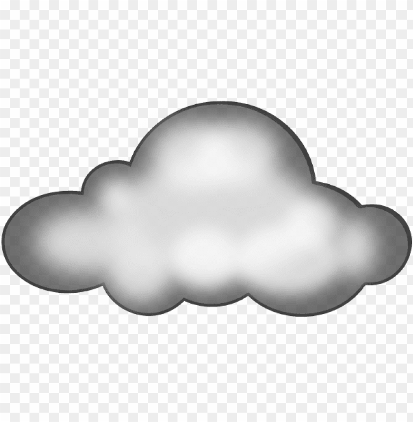 clipart clouds PNG image with transparent background.