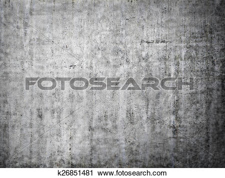 Clipart of Grey concrete background. k26851481.