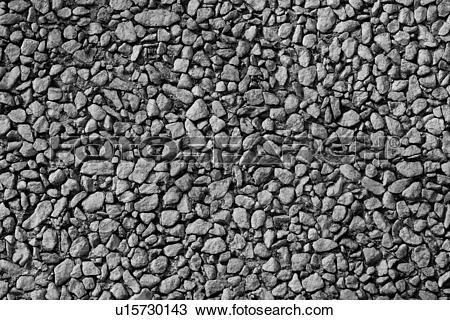 Stock Photo of grey, concrete, rocks, pebbles, surface, texture.
