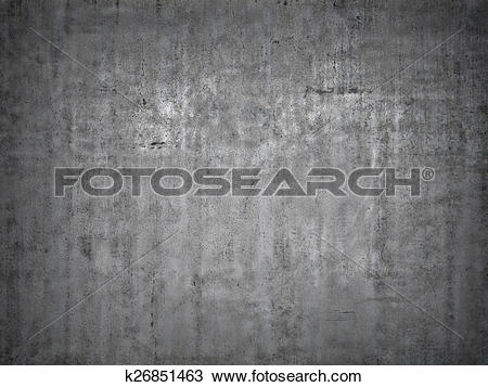 Drawing of Grey concrete background. k26851463.
