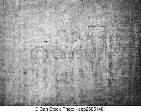Stock Illustration of Grey concrete background. csp26851481.