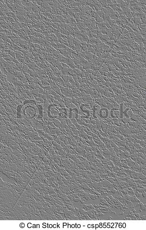 Stock Illustration of Concrete seamless gray texture.