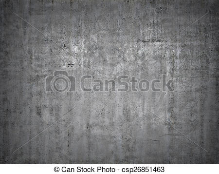 Stock Illustration of Grey concrete background. csp26851463.