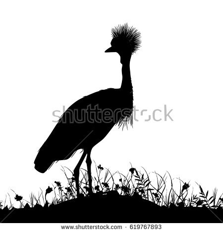 Crowned Crane Stock Vectors, Images & Vector Art.