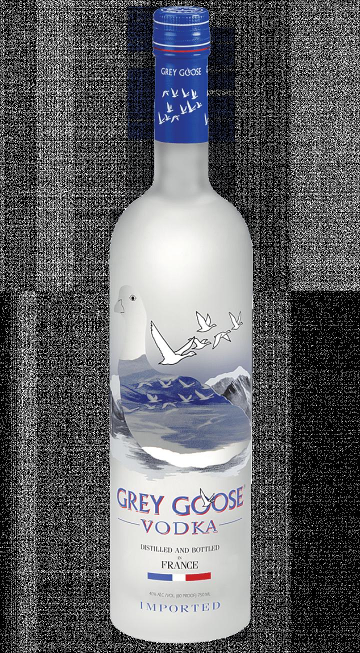 Grey Goose Vodka transparent PNG.