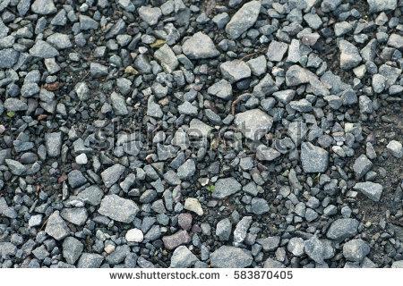 Grey gravel road clipart #1