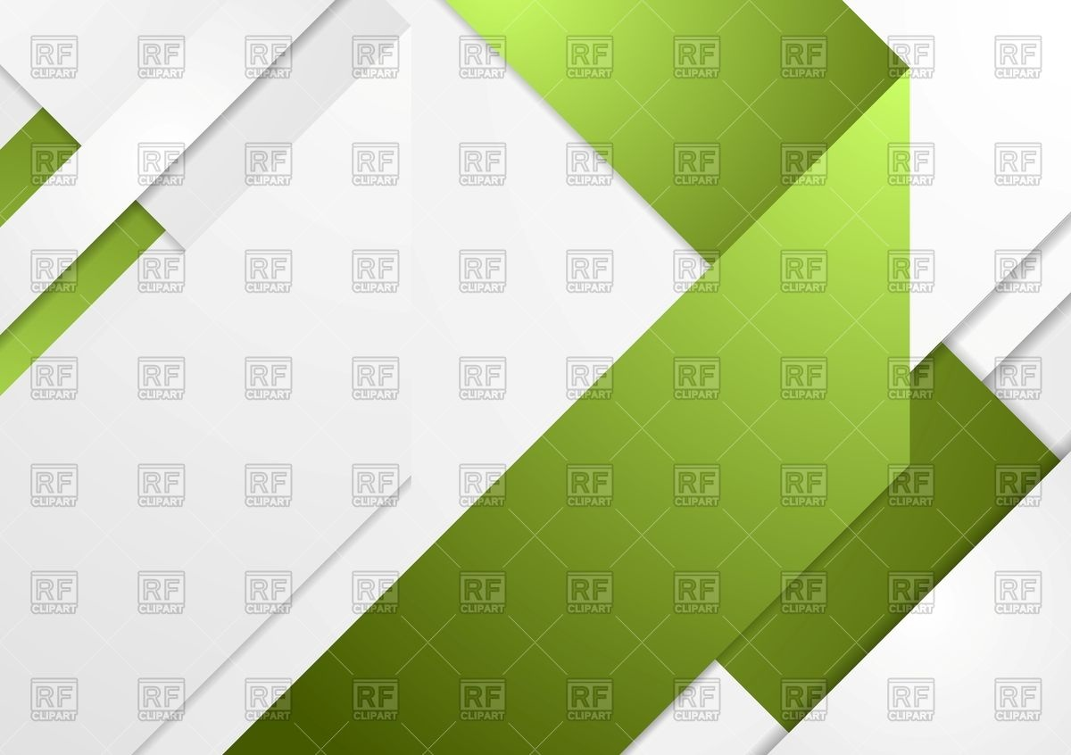 Bright tech corporate green and grey background Vector Image.