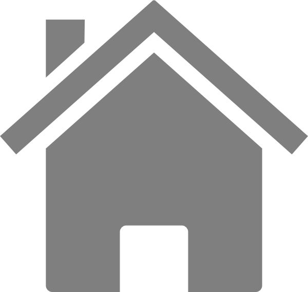 Simple Grey House Clip Art at Clker.com.