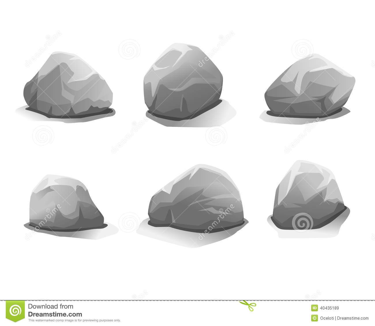 Grey Stone Clipart Clipground