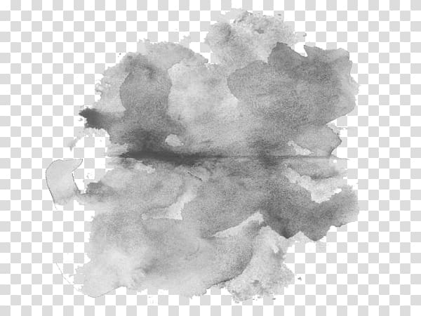 Gray abstract illustration, Watercolor painting , painting.