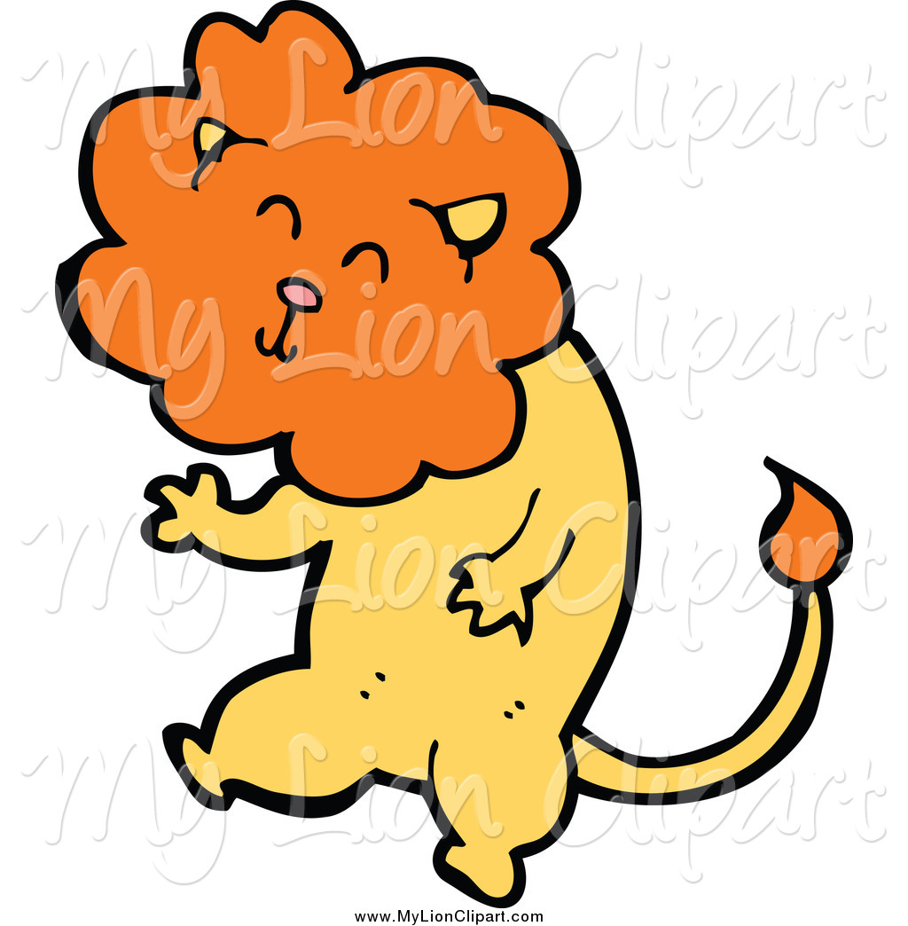 Royalty Free Stock Lion Designs of Wild Cats.