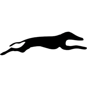 Greyhound images clipart.