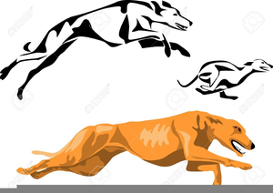 Clipart Of Greyhounds.