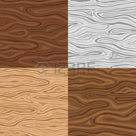 Wooden Seamless Backgrounds Set In Grey Sand And Brown Colors.