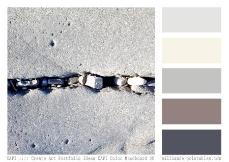 Capi Color Moodboard Palettes 5,Milliande's Printable Color.