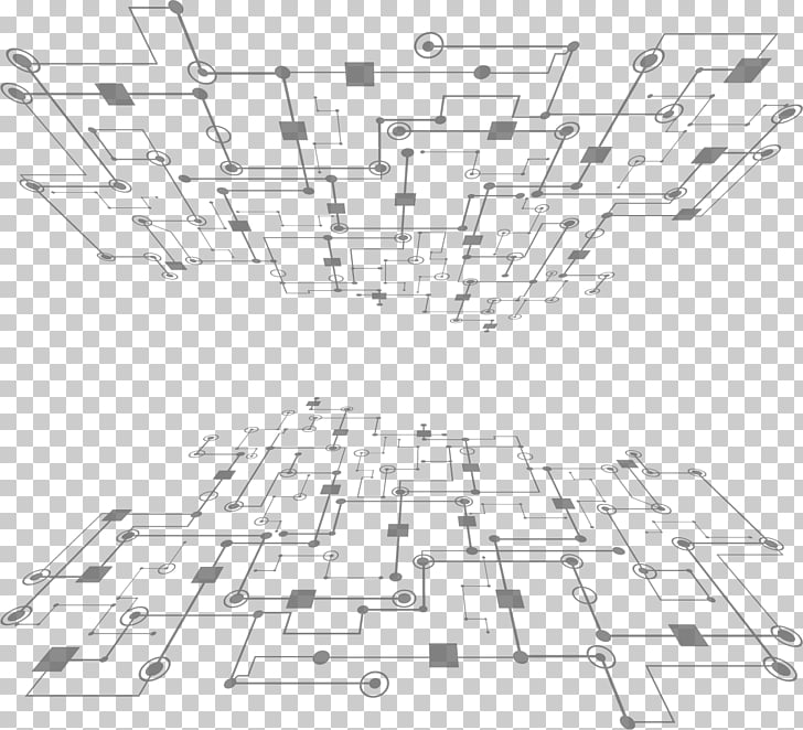 SCIENCE grid background PNG clipart.