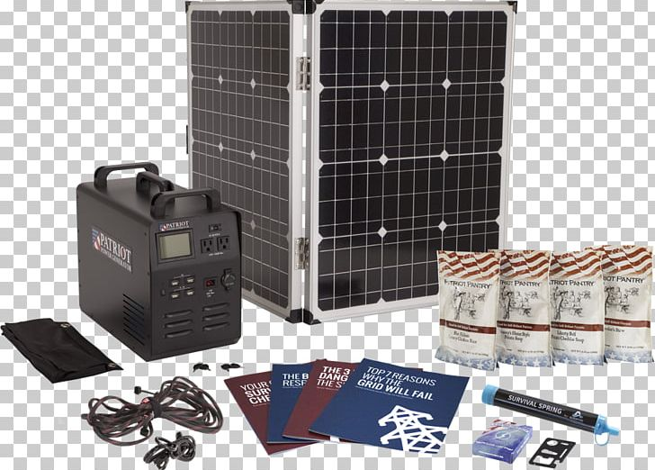Electric Generator Solar Power Emergency Power System.