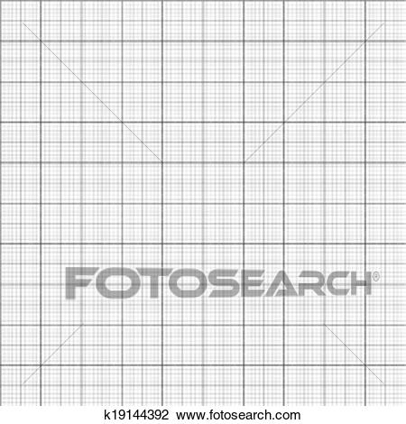 Gray grid paper Clipart.