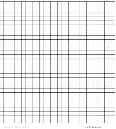 Printable Centimeter Grid Paper   Math Templates.