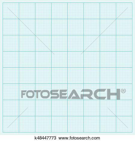 Graph paper coordinate paper grid paper squared paper Clipart.