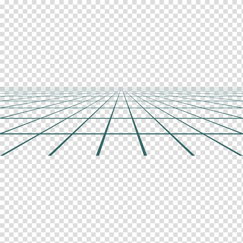 Perspective grid geometry grid transparent background PNG.