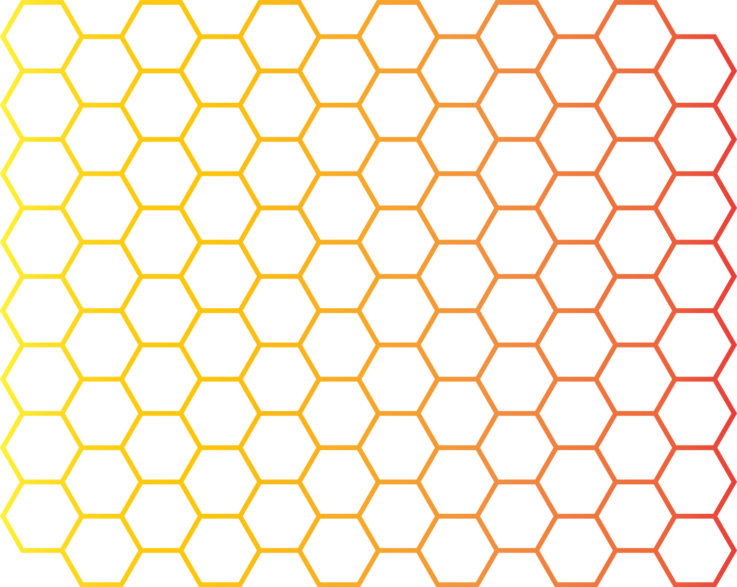 Hexagon Honeycomb Euclidean vector Hexadecimal Pattern.