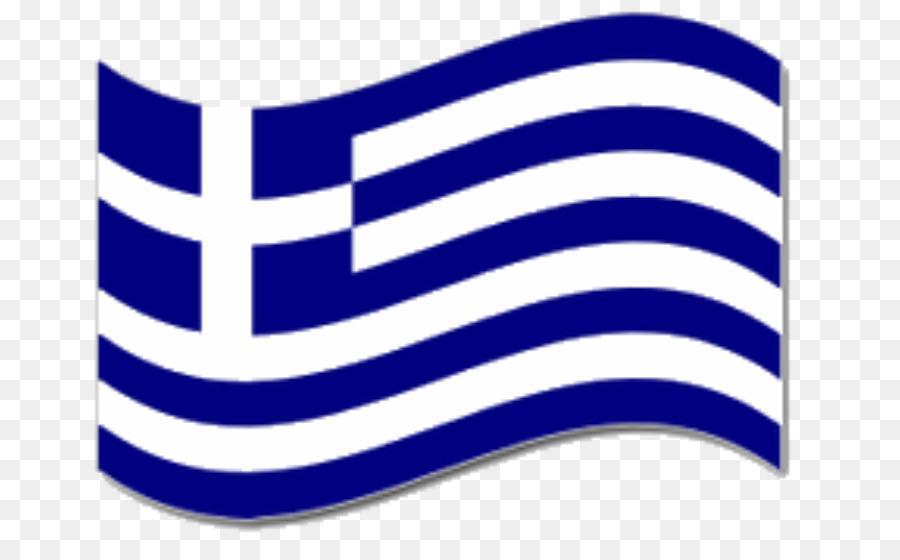 Flagge Griechenland Fahne clipart.