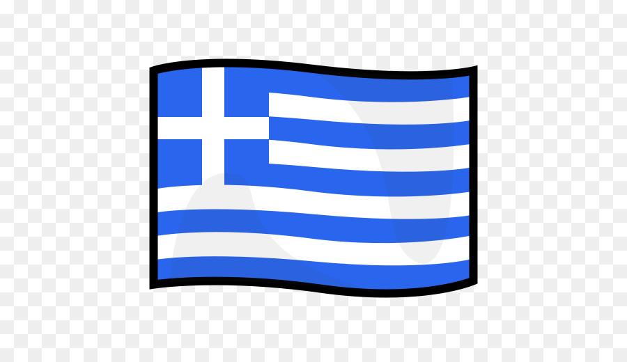 Flagge von Griechenland Emoji.