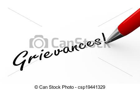 Grievance clipart #3