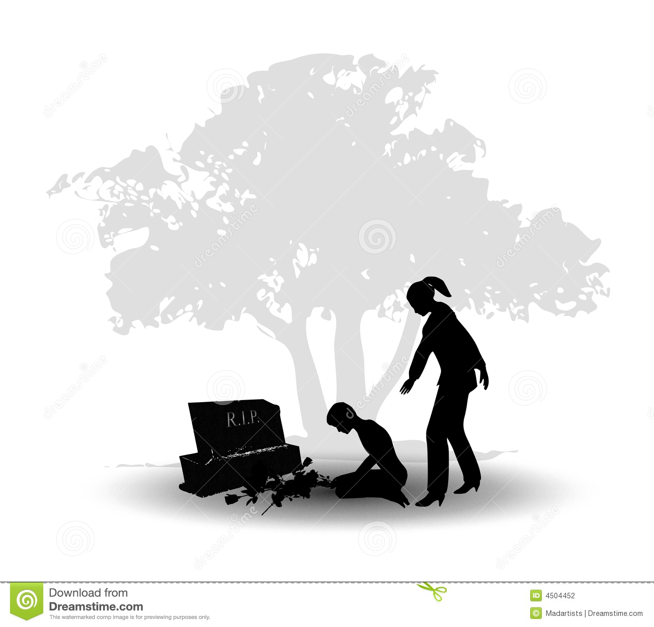 Grief Clipart.