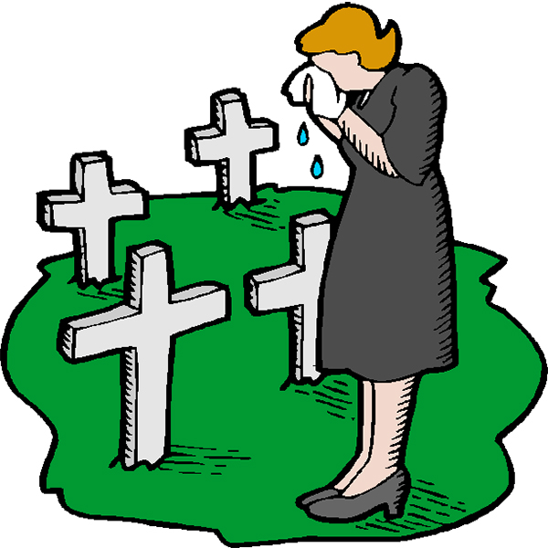 Mourning clipart.