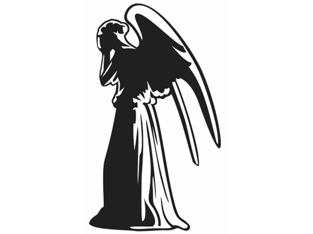 Grieving Angel Clipart.