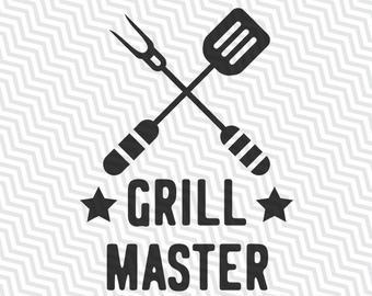 Grill master svg.