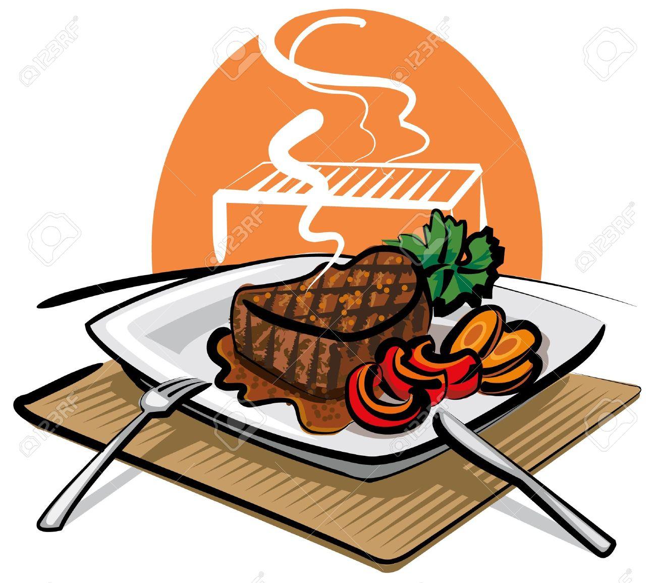 Free steak dinner clipart.