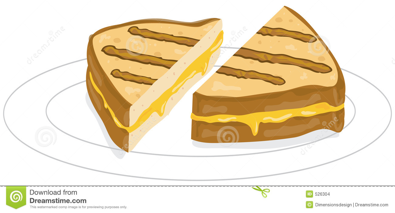 Grilled cheese clipart - Clipground