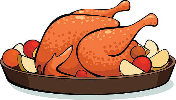 Best Roast Chicken Illustrations, Royalty.