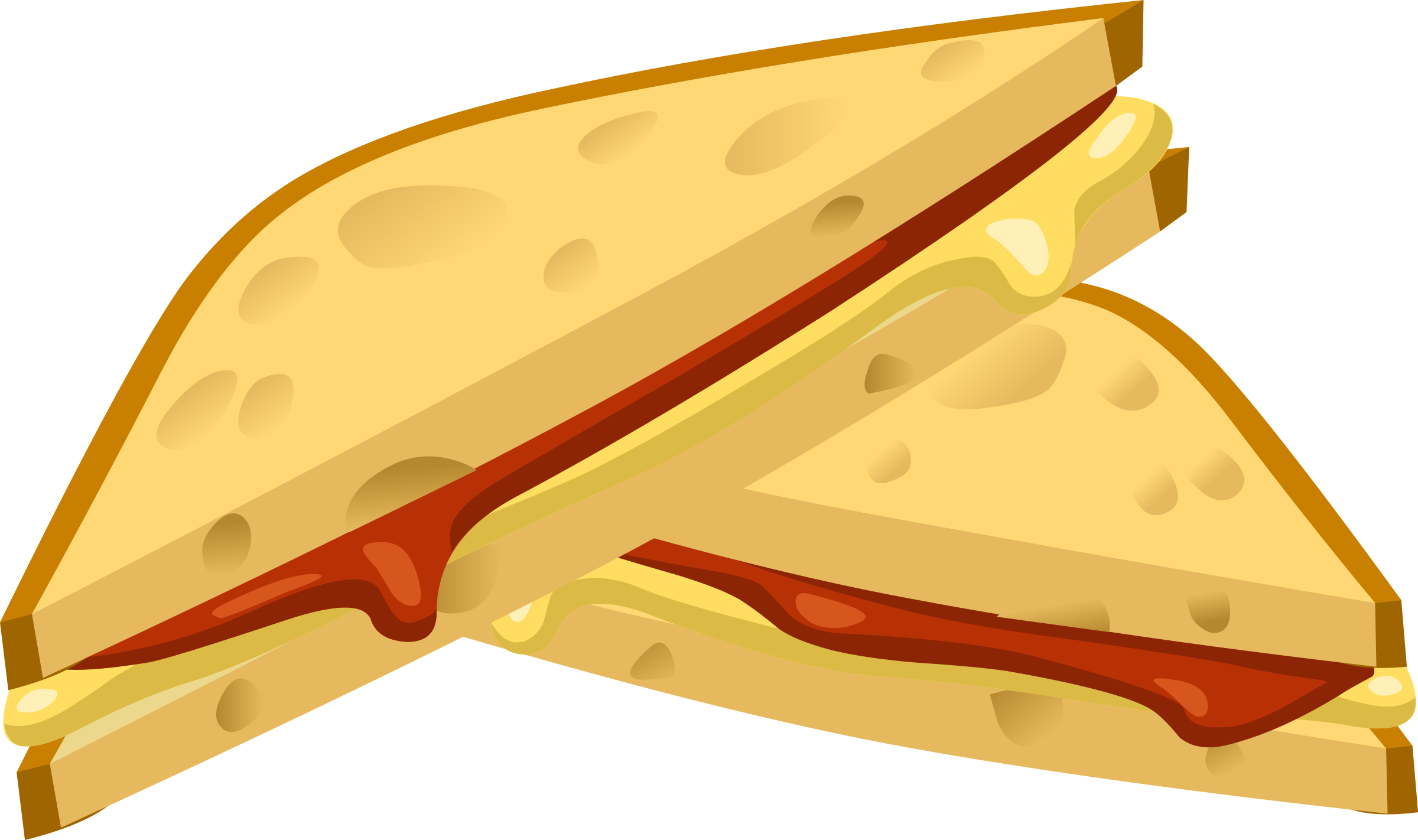 Grilled Cheese Clip Art.