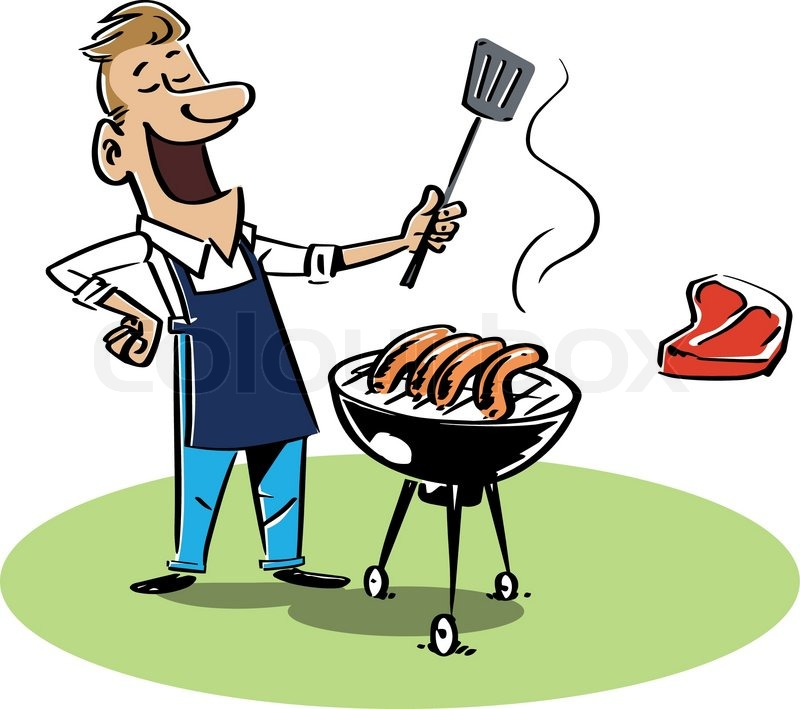 Collection of free Fartherer clipart bbq grill. Download on.